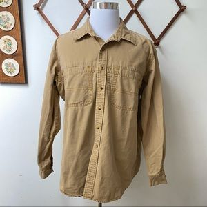 L.L. Bean Canvas Shirt Jacket